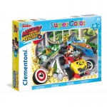 Clementoni 60 ELEMENTÓW Mickey And The Roadster Racers 26976
