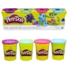 Hasbro PlayDoh 4pak Bright Color ZH-B6510