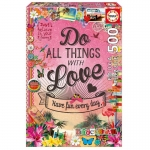Educa 500 Elementów Do All The Things With Love Gingerbread 17086