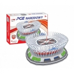 Cubicfun Puzzle 3D Stadion PGE Narodowy, 105 elementów 306-20249