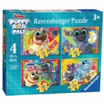 Puzzle Puppy and Dog Palls 4w1